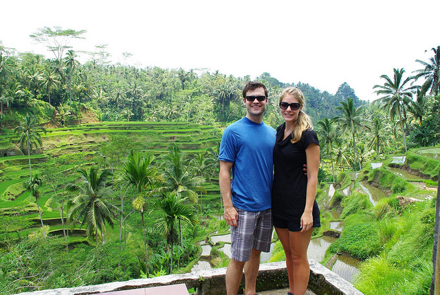 Rice Paddie in Bali