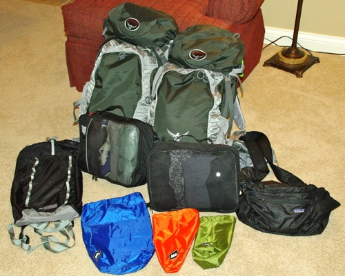 Our packs