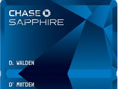 sapphire preferred card