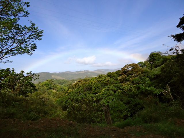 Rainbow in Arenal, Costa Rica