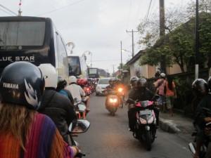 Bali traffic
