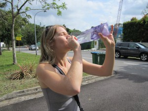 care water bottle