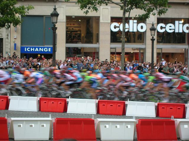 Peloton at Tour de France