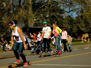 rollerblading in buenos aires palermo