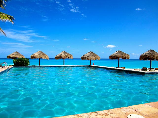 westin cancun resort pool
