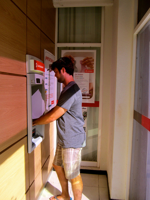 josh at atm in cancun