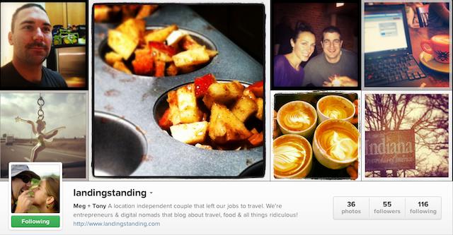 landingstanding instagram