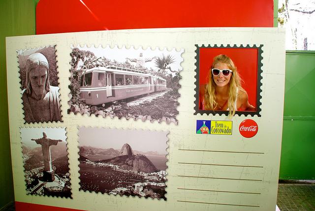postcard in rio