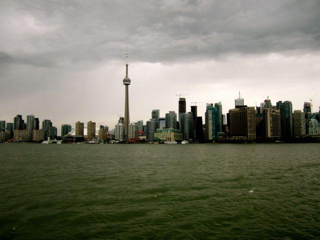 storm in Toronto Canada
