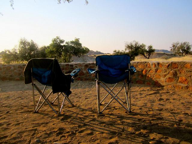 camping in botswana africa