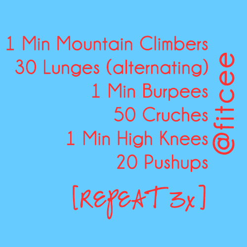 fitceeworkout