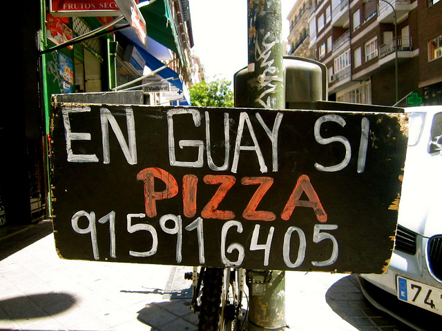 en guay si pizza in madrid