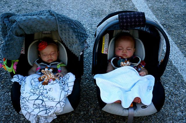 road trip with a newborn