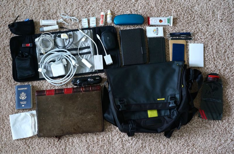incase range messenger bag