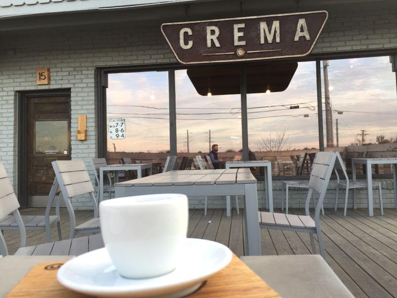 Coffee in nashville, Crema